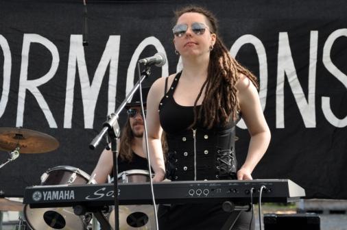 Keyboarden var central i Gormogons ljudmatta.