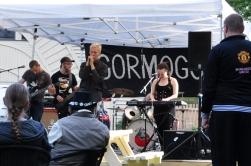 Gormogons fick fint väder och bra publikrespons.